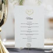 menu, stationary