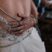 bride, groom, lace