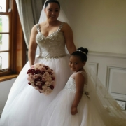 bouquets, bride, flower girls, wedding dresses, wedding dresses