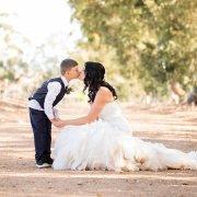 bride and page boy