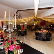 draping, fairy lights, wedding decor