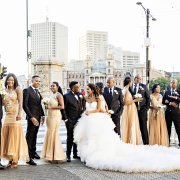 bridal party, wedding party