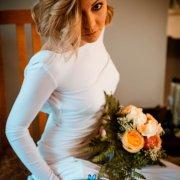 bouquet, bride, garter