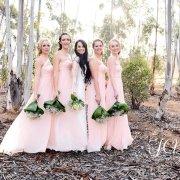 brides maids, pink