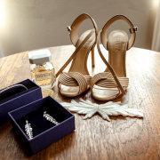 bridal shoes, brides accessories