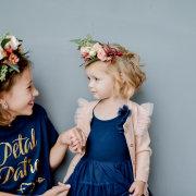 flower crown, flower girls
