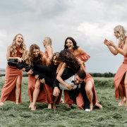bridesmaids, bridesmaids, groom, groom, groom, groom, groom, groom, groom, groom, groom, groom