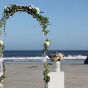 arch, beach