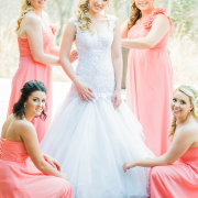 bridesmaids dresses, wedding dress