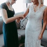 bride and bridesmaids, lace, lace, wedding dresses, wedding dresses