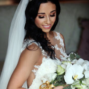 bride, makeup, makeup, tiara