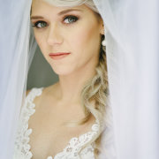 lace, makeup, wedding dress