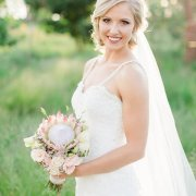 beaded, bouquet, protea, wedding dress, wedding dress