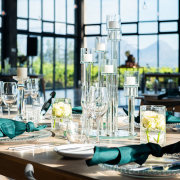 candles, winelands wedding venue