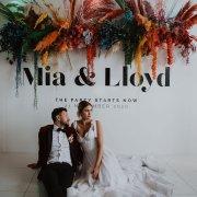 bride and groom, bride and groom, bride and groom, floral decor