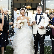 bride and groom, bride and groom, confetti, suits, suits, suits, suits, suits, suits, suits, wedding dresses, wedding dresses, wedding dresses