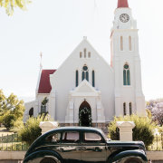 car, church, wedding car