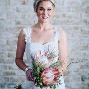 bouquet, pink, protea
