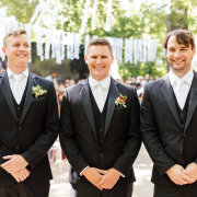 button holes, groom and groomsmen, suits