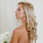 bride, earings, hair accessories