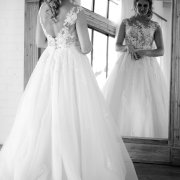 bride, dress, lace