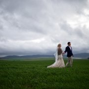 bride and groom, bride and groom, countryside