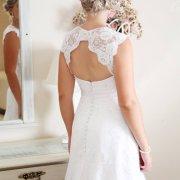wedding dress, lace