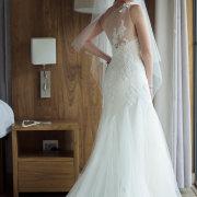 beaded, wedding dress