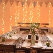 fairy lights, table decor