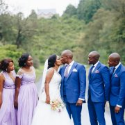 blue, bridesmaids dress, kiss, purple, suits