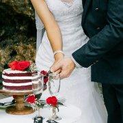 bride, cake, groom