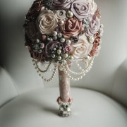 beaded, bouquets