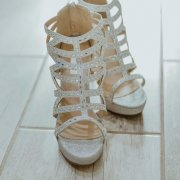 brides accessories, brides shoes