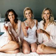 bride and bridesmaids, lingerie, lingerie, lingerie, lingerie