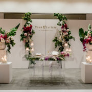 floral decor, main table, wedding decor