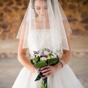 beaded, veil, wedding dress