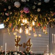 decor, flowers, lights