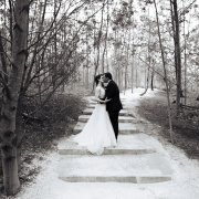 forest, kiss, kiss