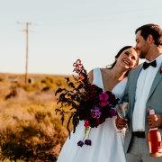bouquets, bride and groom, bride and groom, bride and groom