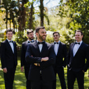 groom and groomsmen, tuxedos