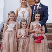 bride and groom, bride and groom, bride and groom, flower girls, flower girls dresses