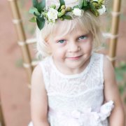 flower girl, headpiece