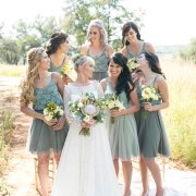 bridesmaids dresses, green