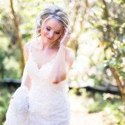 makeup, wedding dress