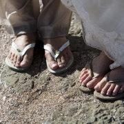 beach, shoes