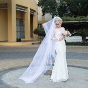 lace, lace, veil, wedding dresses