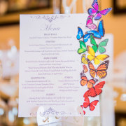 menu, stationery