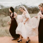 bridal shoes, bridesmaids dresses