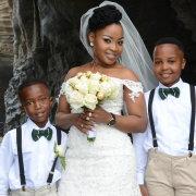 bride, page boys