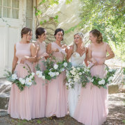 bridesmaids dresses, pink